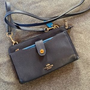 Coach wallet crossbody bag